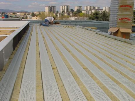Etancheite support bac acier qualibat 3272 r f rences - Rendre une terrasse etanche ...